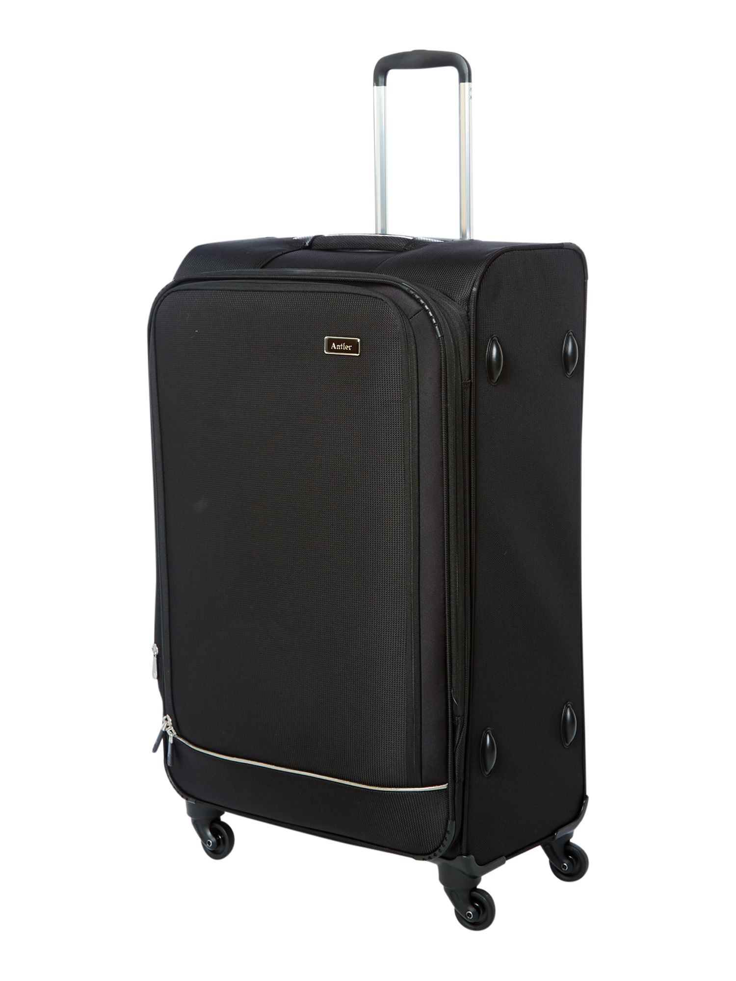 Stephano large black suitcase