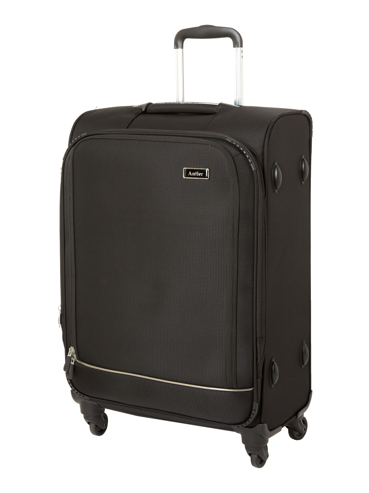 Stephano medium black suitcase