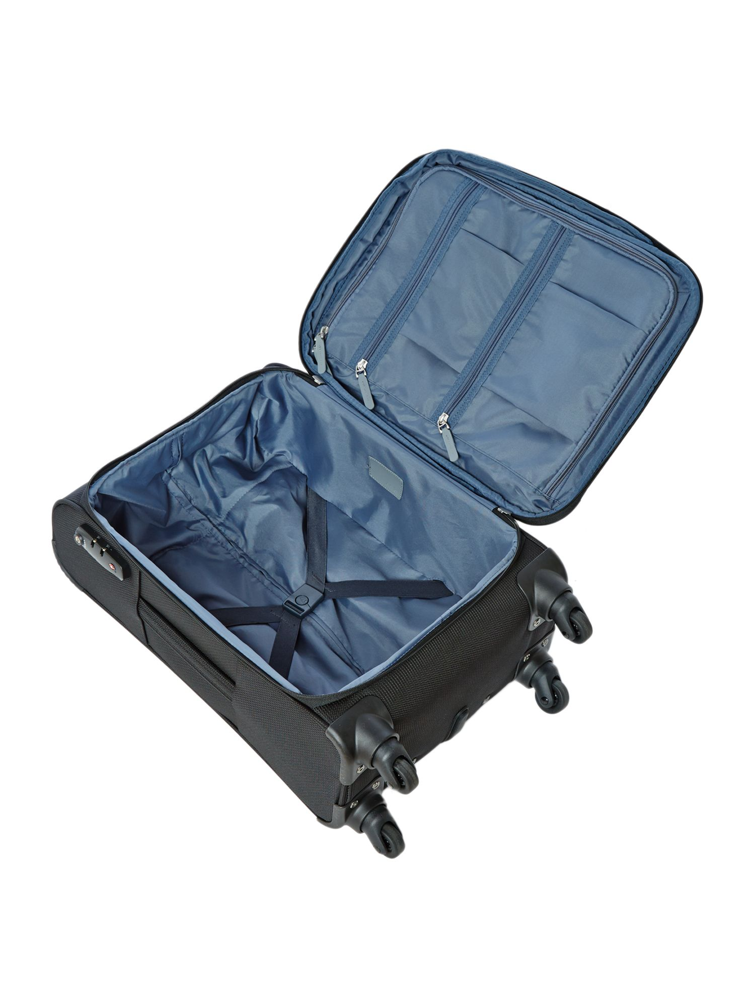 Stephano cabin black suitcase