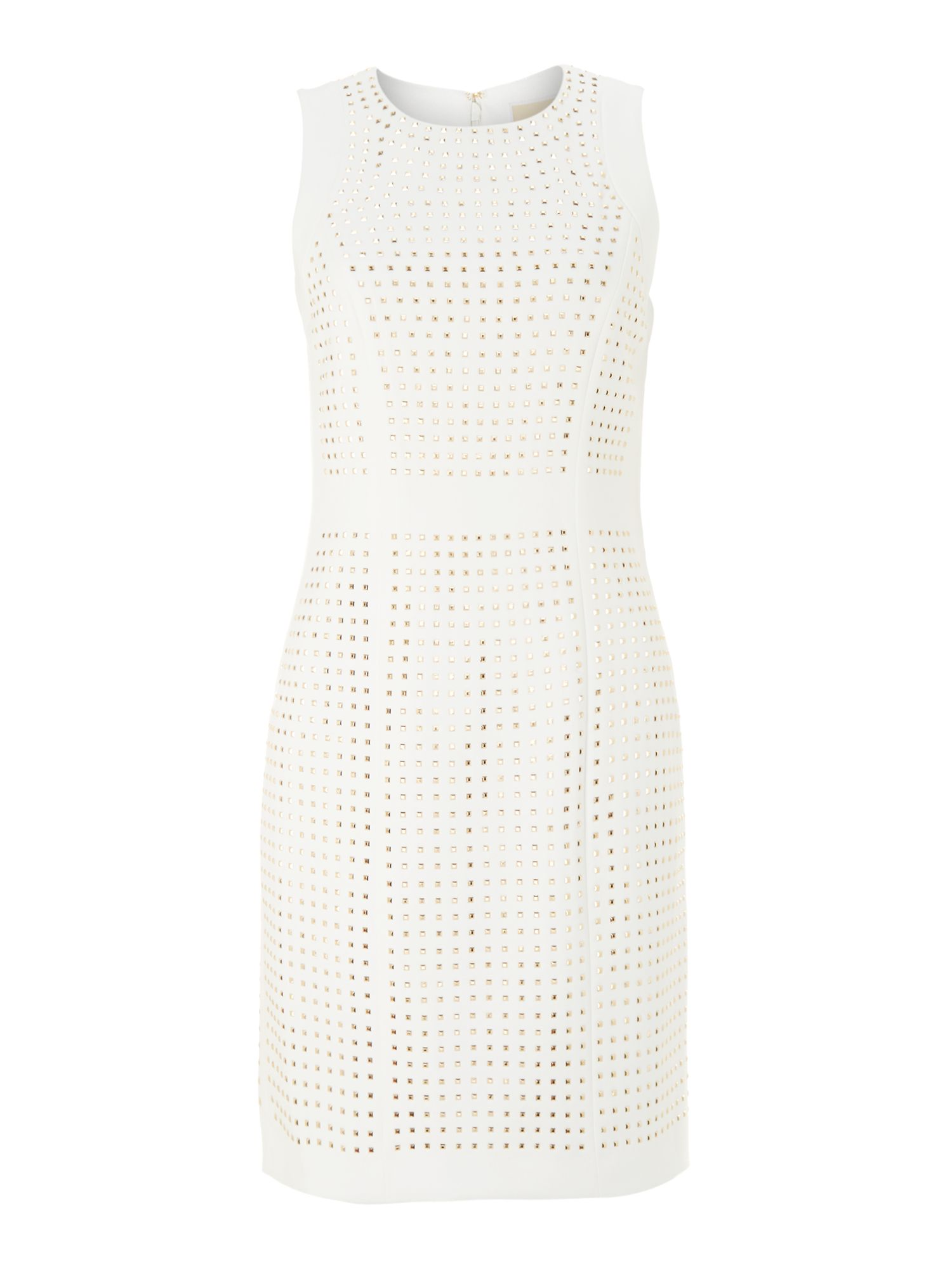 Studded sleeveless dress