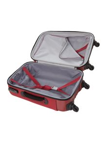 Hydra cabin red suitcase