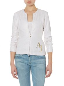 Long sleeve jacket with Armani Jeans logo