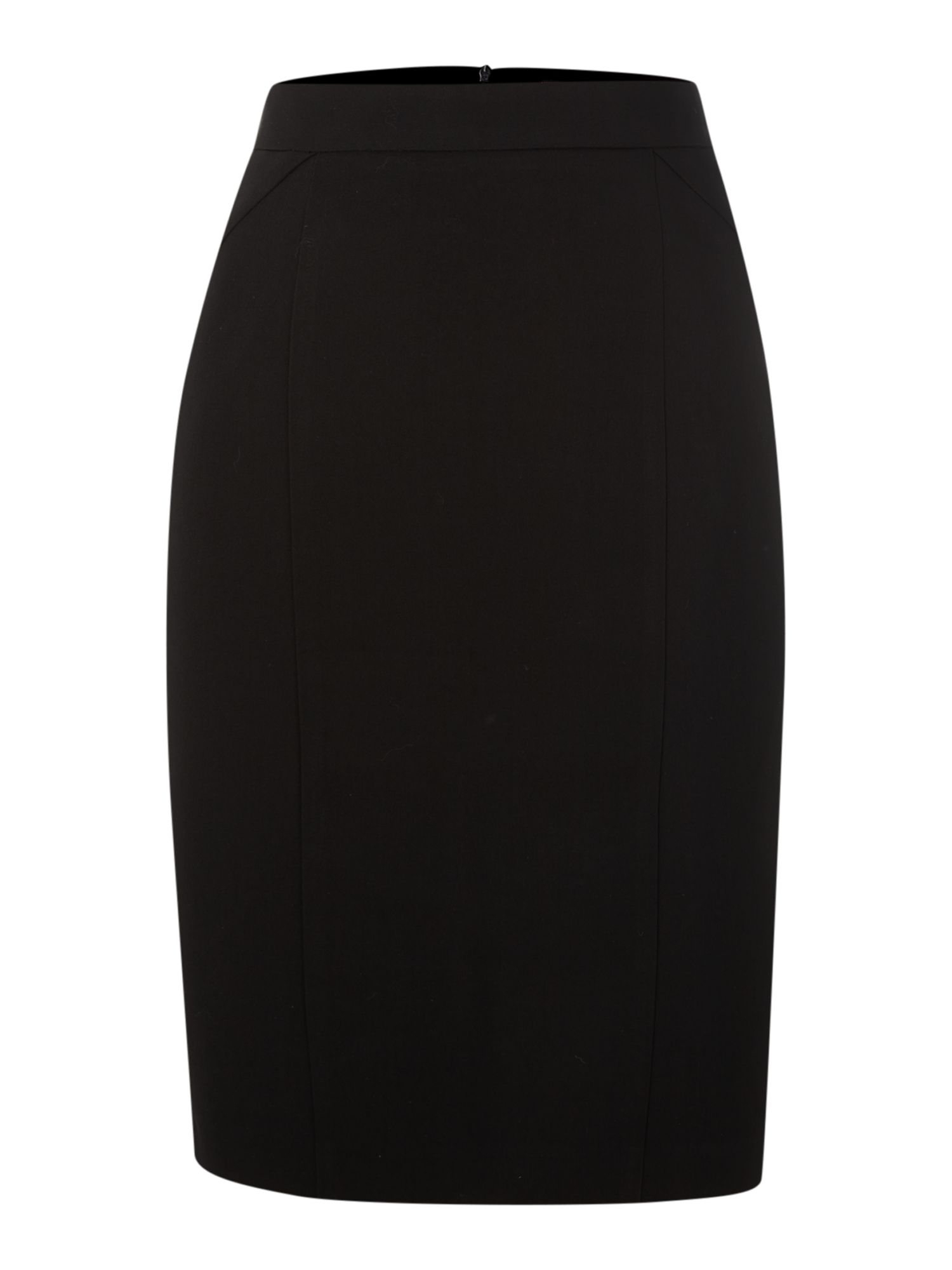Tailored work wear skirt