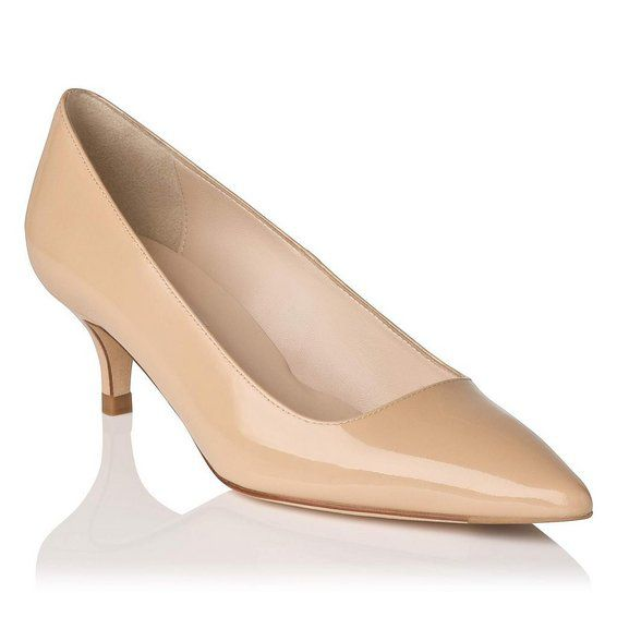 Minu single sole pointed court shoes