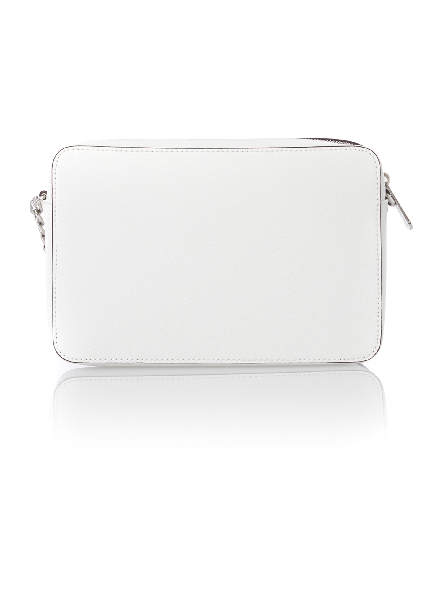 Jet set travel small white cross body bag