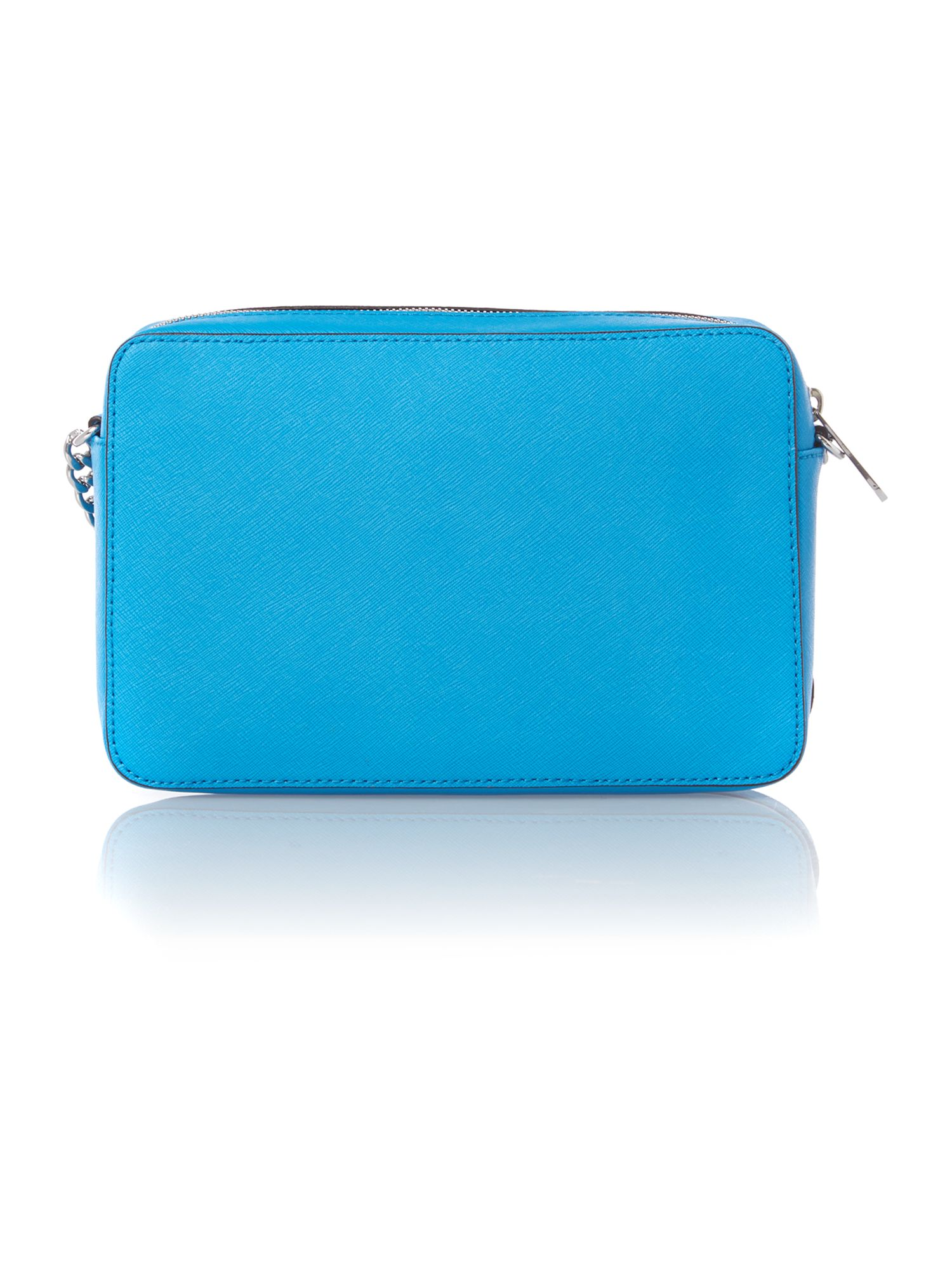 Jet set travel small blue cross body bag