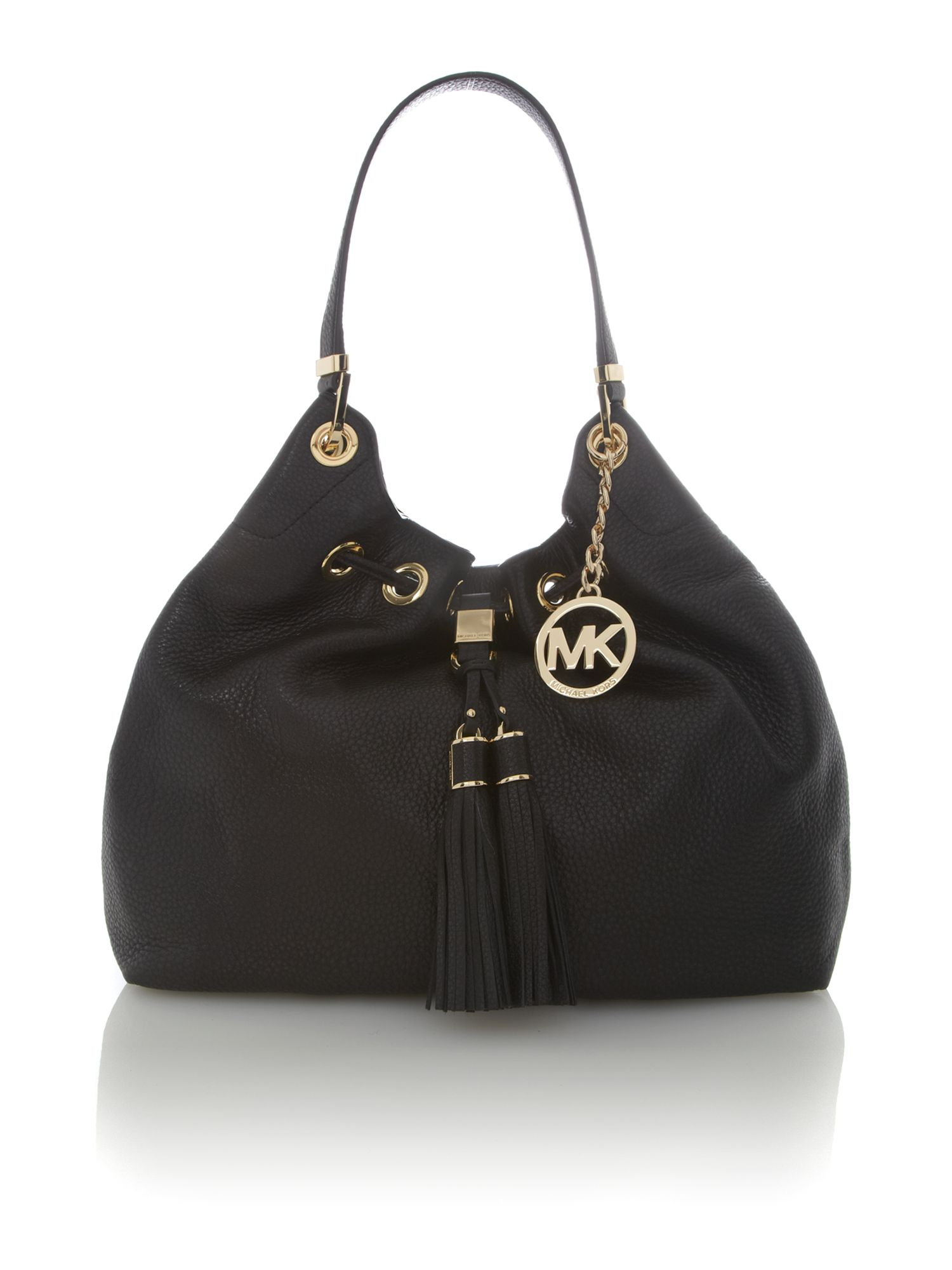 Middleton black hobo bag