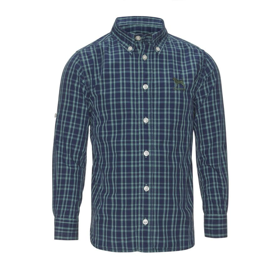Boys check shirt