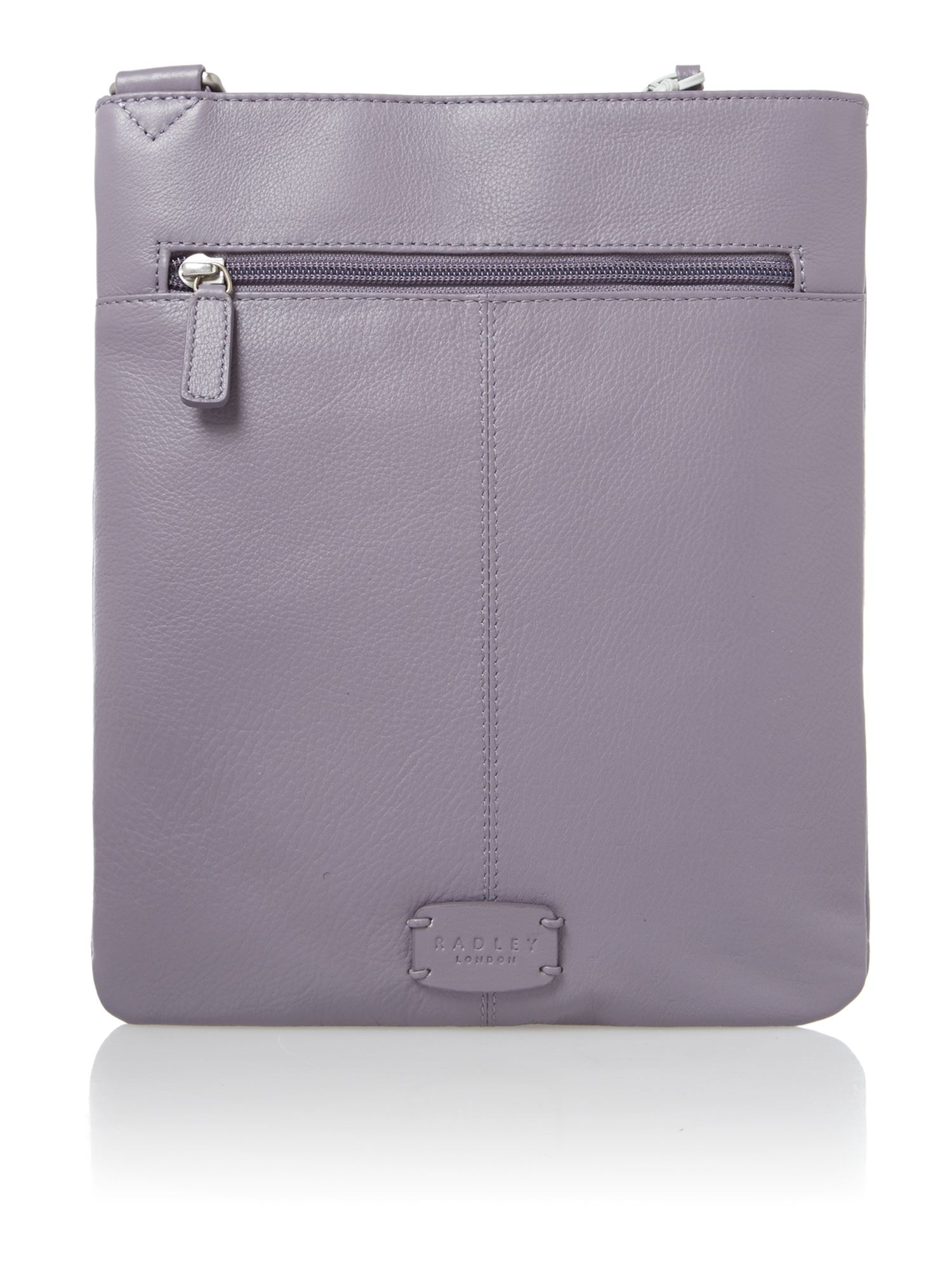 Pocket purple cross body bag