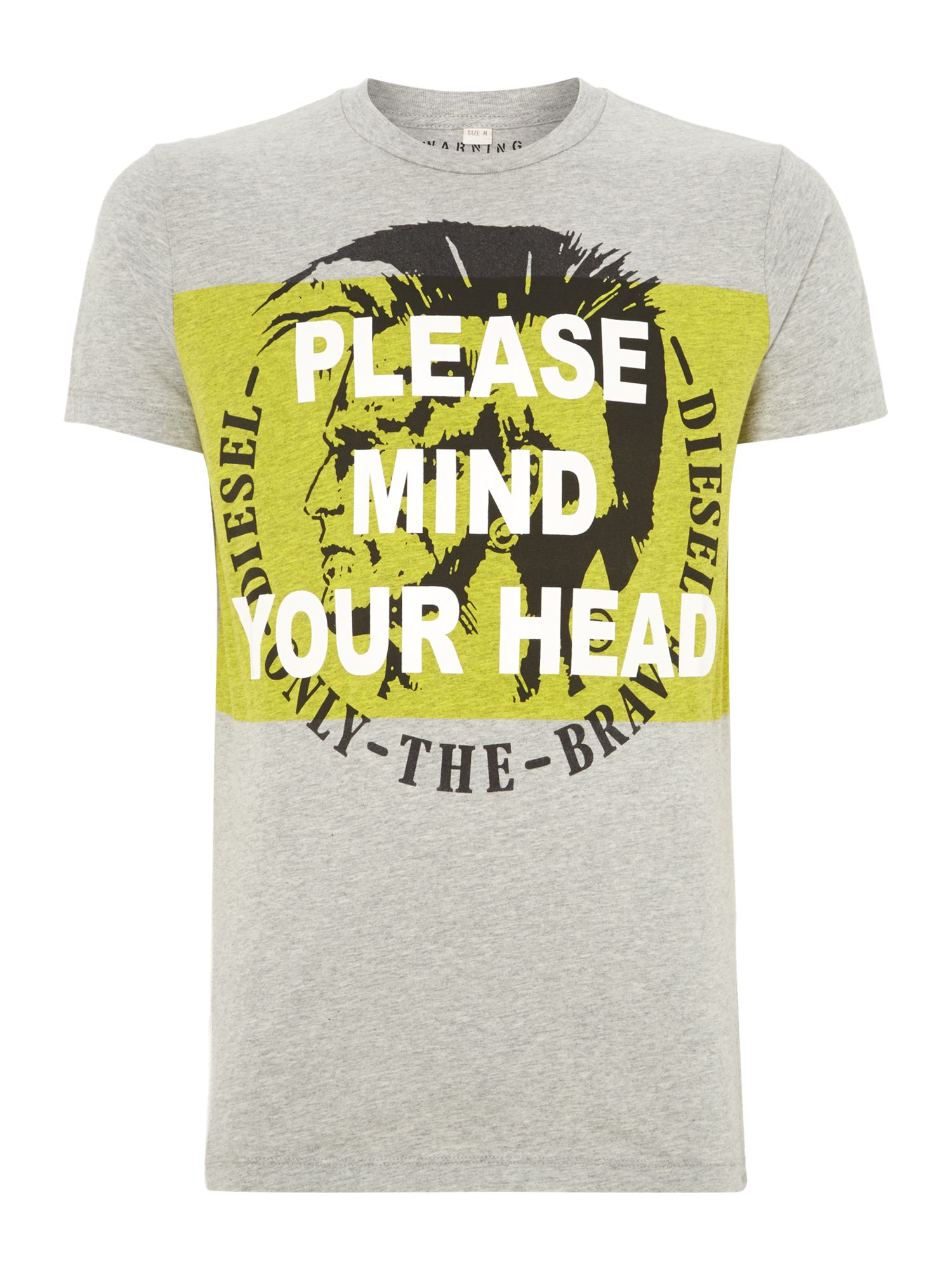 T-mind diesel mind your head t shirt