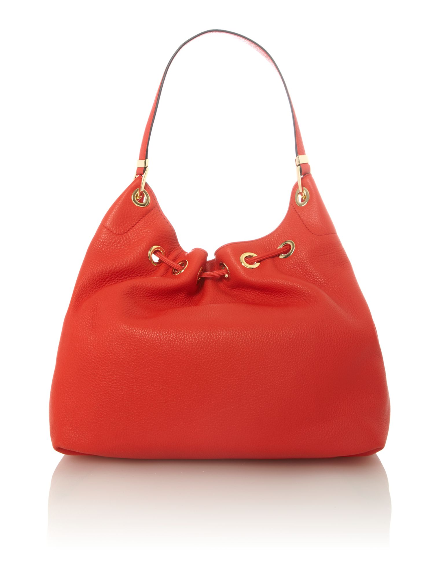 Middleton red hobo bag
