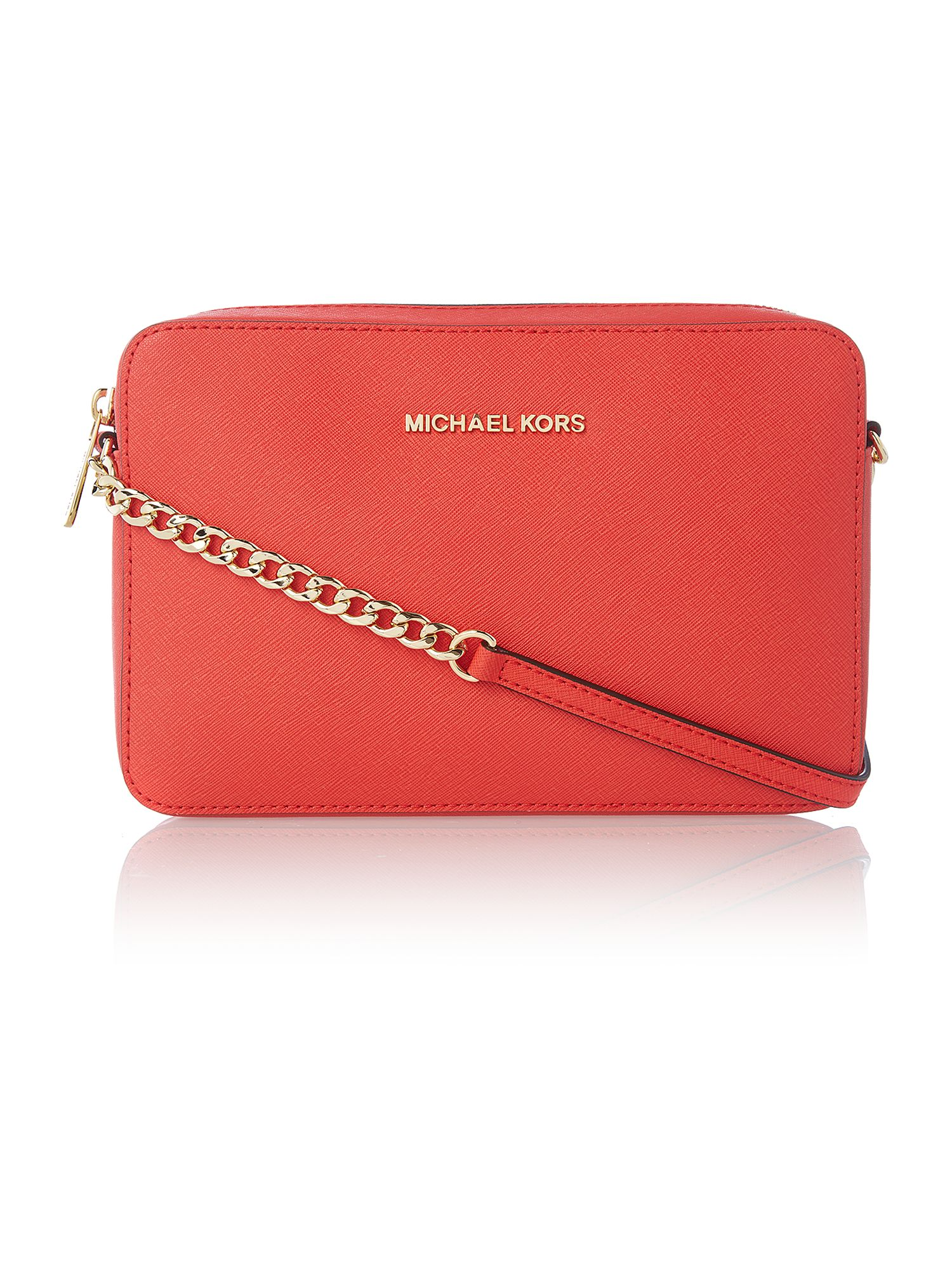 Jet set travel small red cross body bag