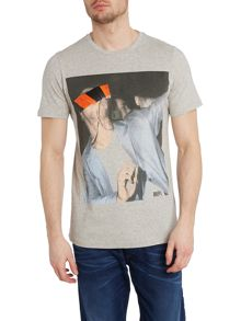 T-cover spot face printed t shirt