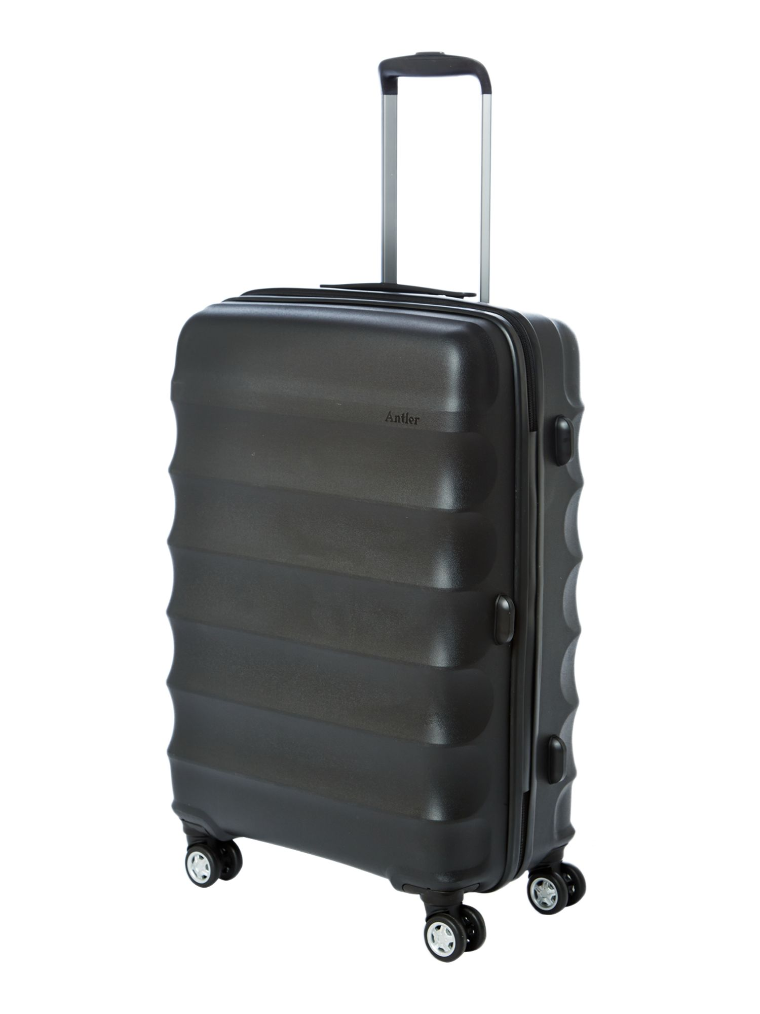 Antler Juno medium black roller suitcase Black
