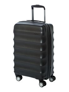 Juno black 4 wheel cabin suitcase