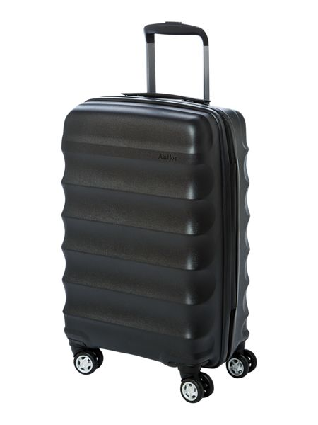 Antler Juno black 4 wheel cabin suitcase