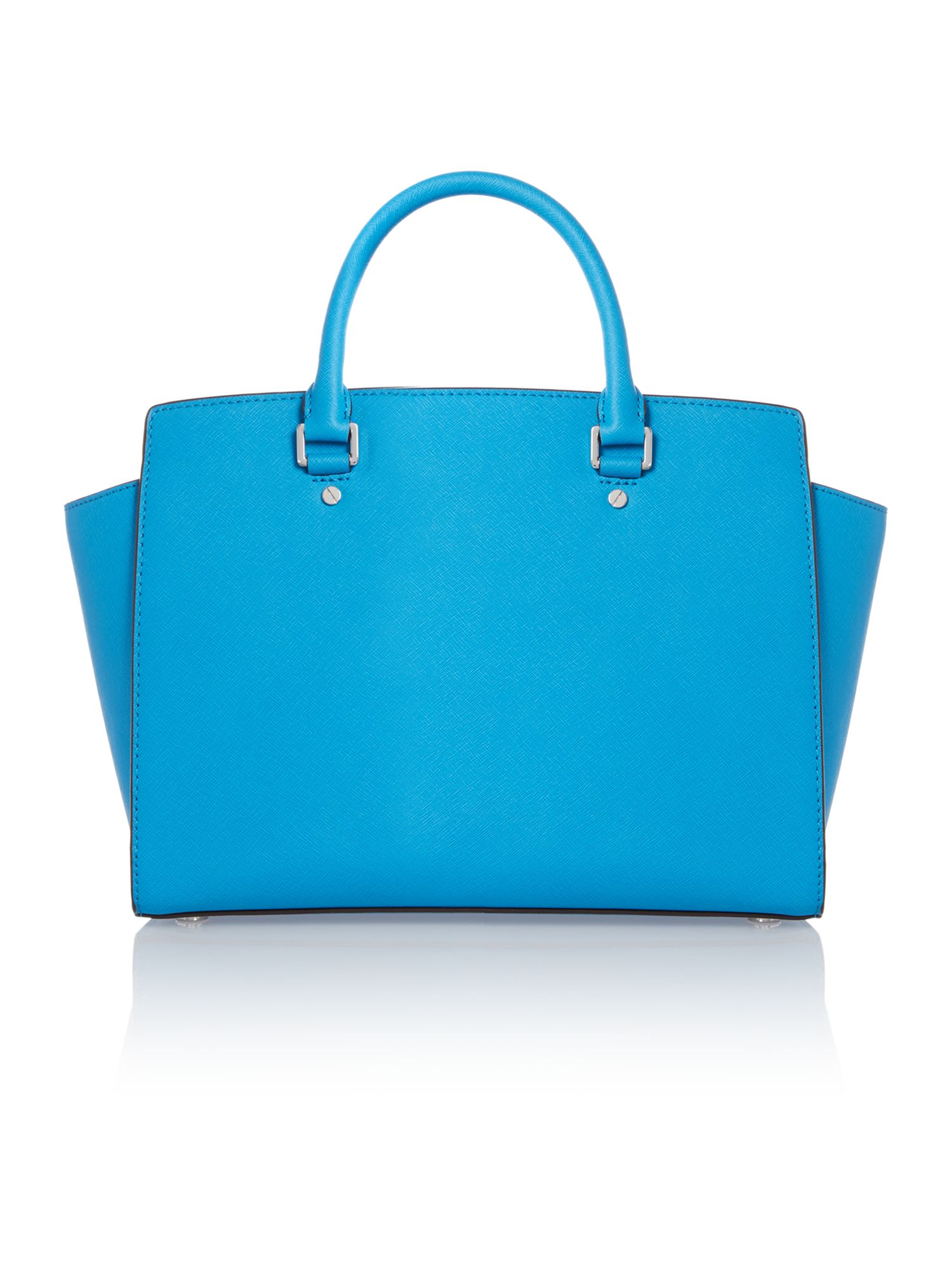Selma blue tote bag