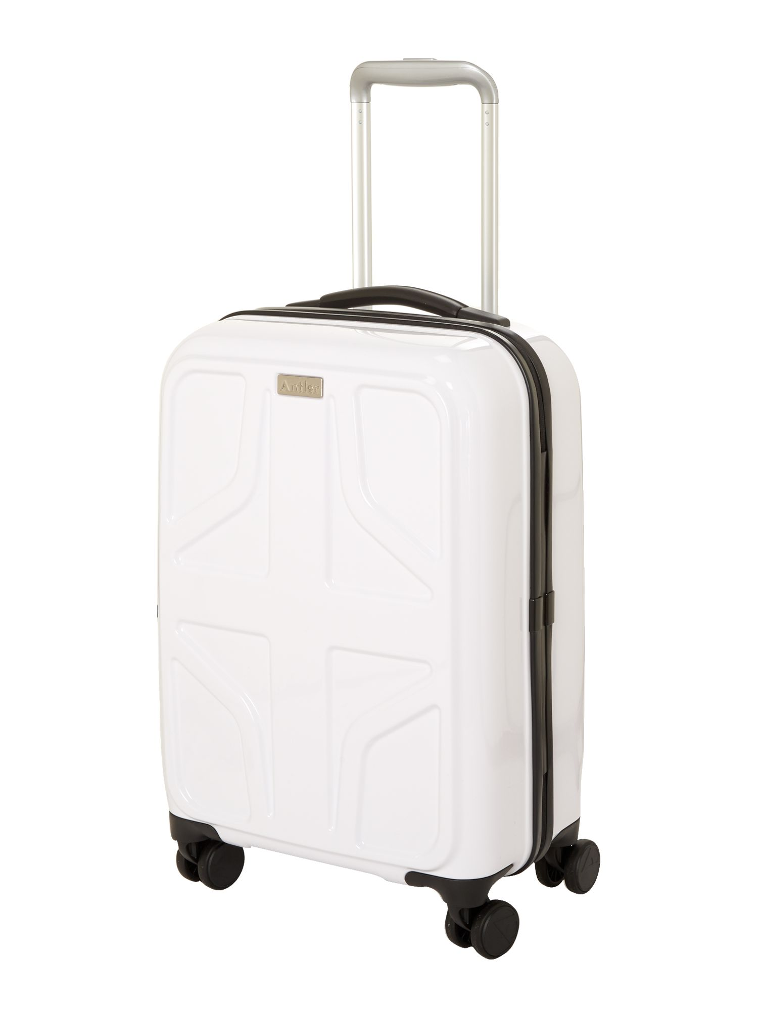 Sterling cabin white suitcase