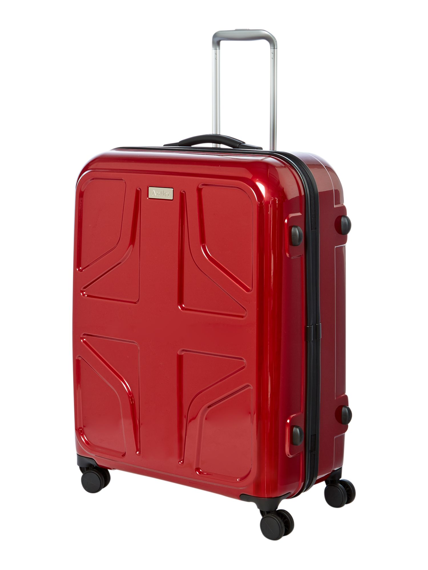 Sterling large red suitcase