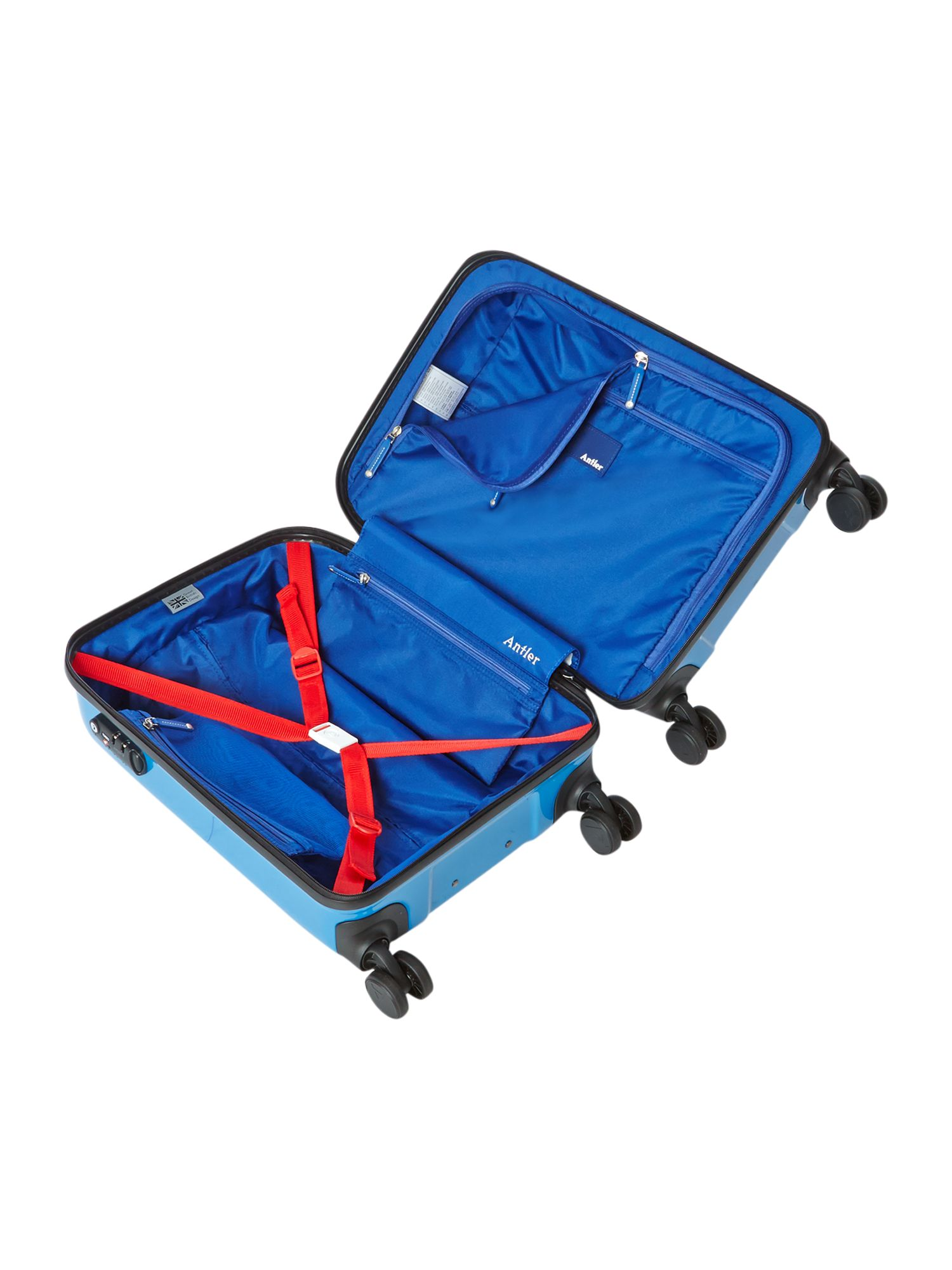 Sterling cabin blue suitcase