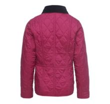 Girls Eliza Liddesdale jacket with floral lining