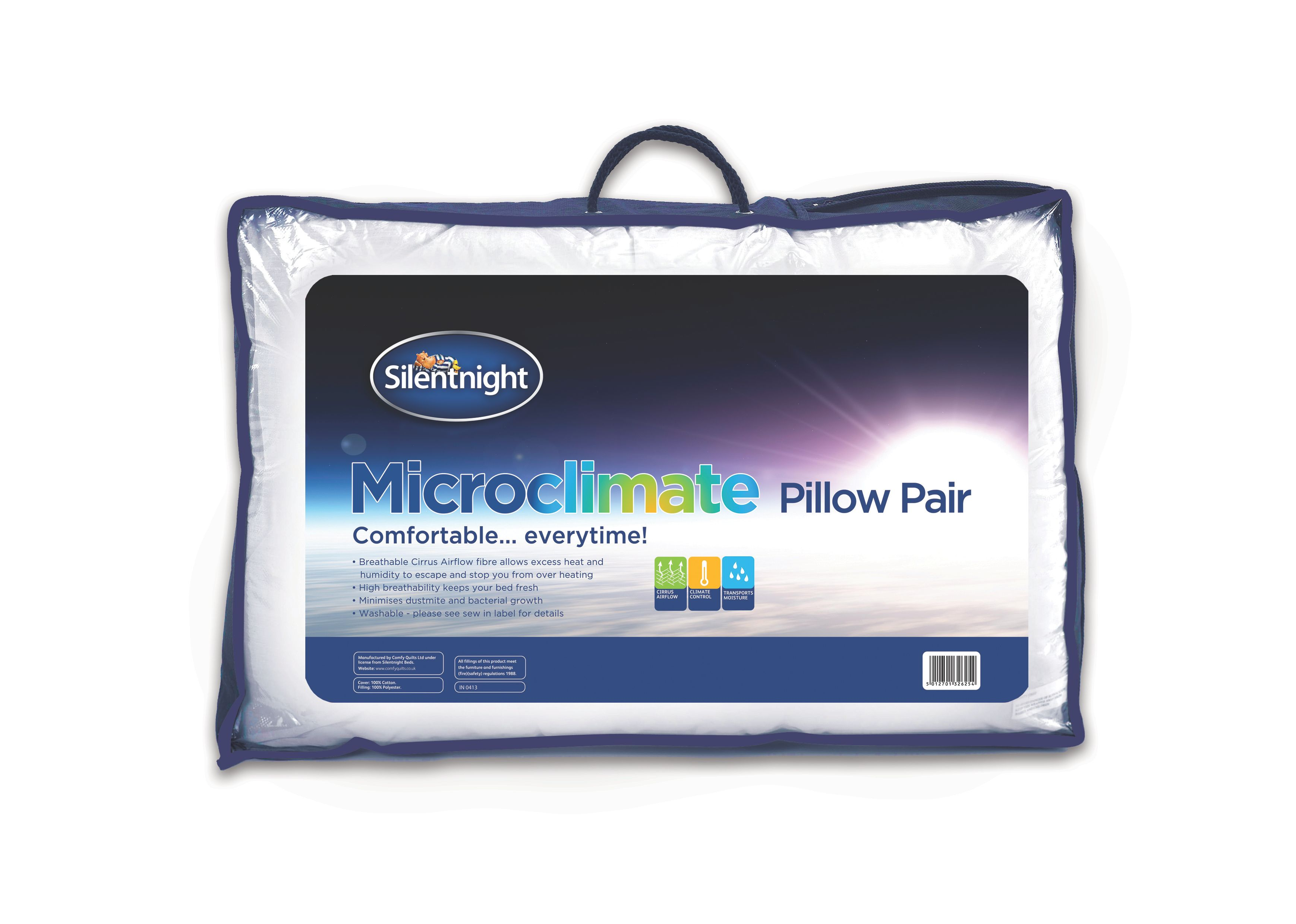 Silentnight microclimate pillow pair