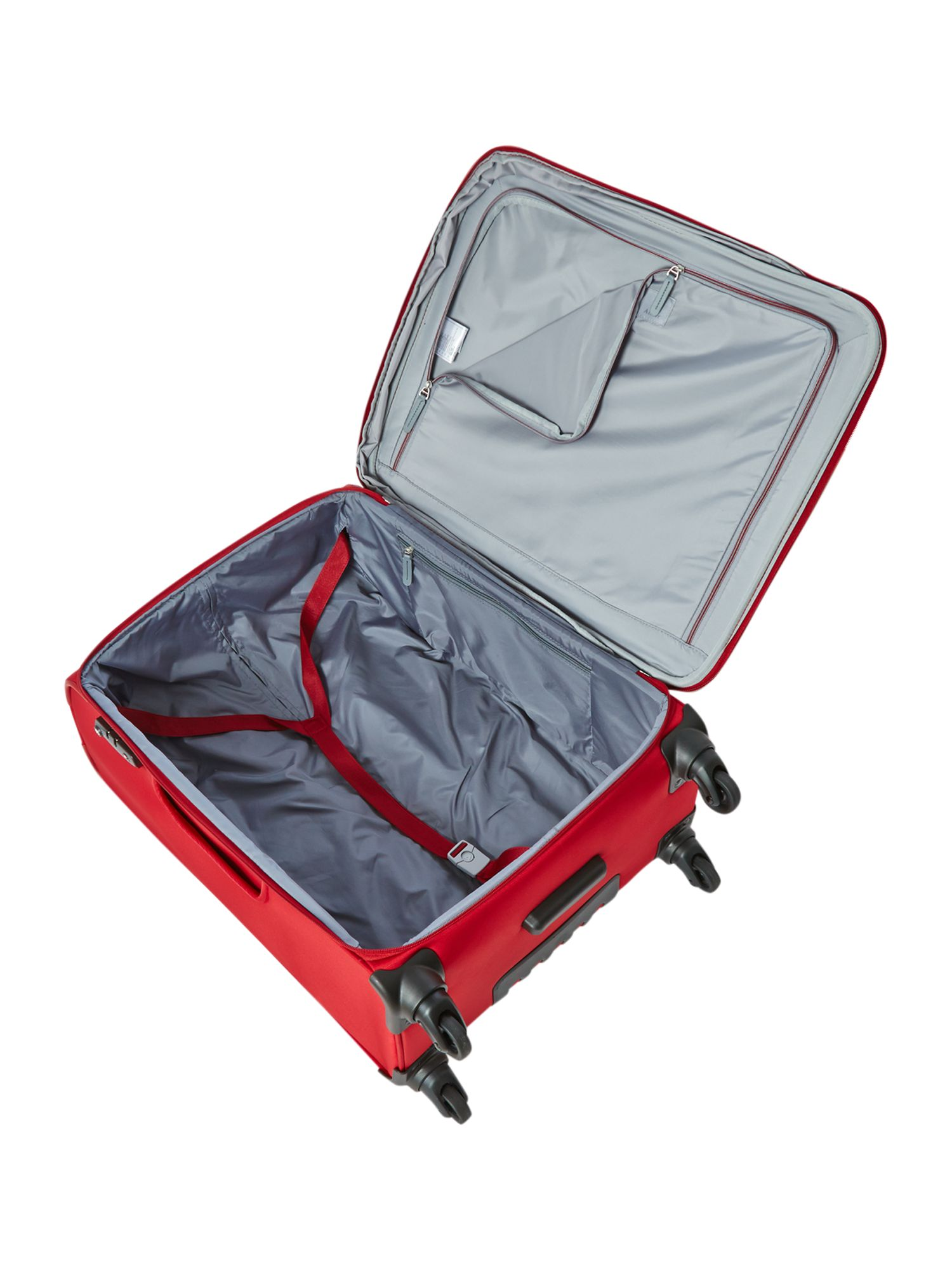 Cyberlite red medium rollercase