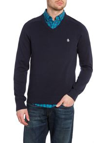 Original Penguin Camford v neck jumper
