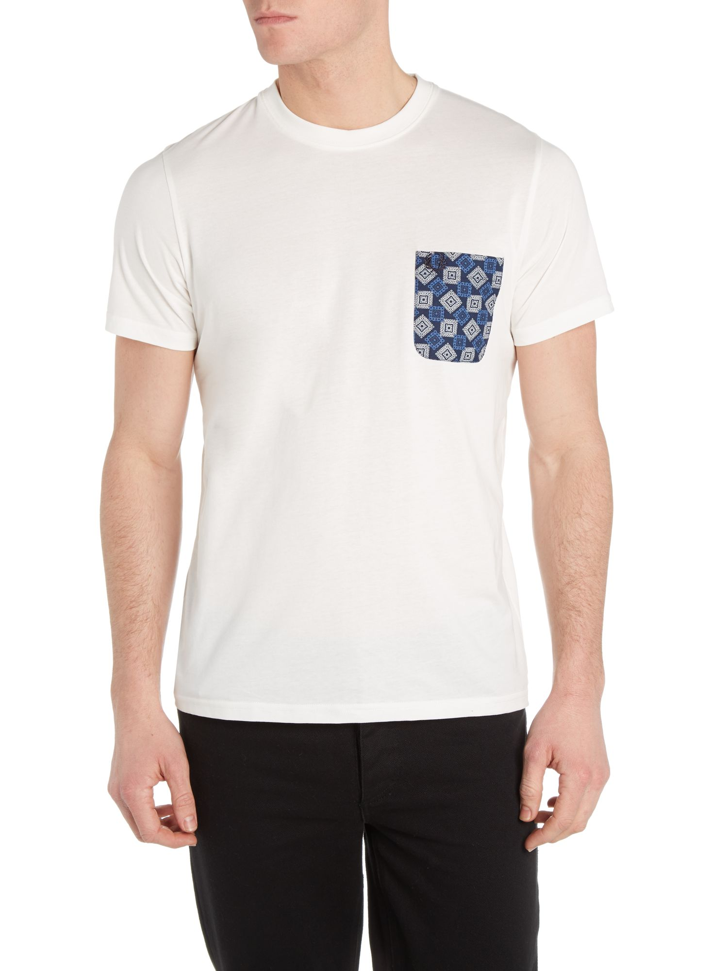 Drake`s heritage printed pocket t-shirt