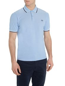 Fred Perry Classic slim fit twin tipped polo shirt