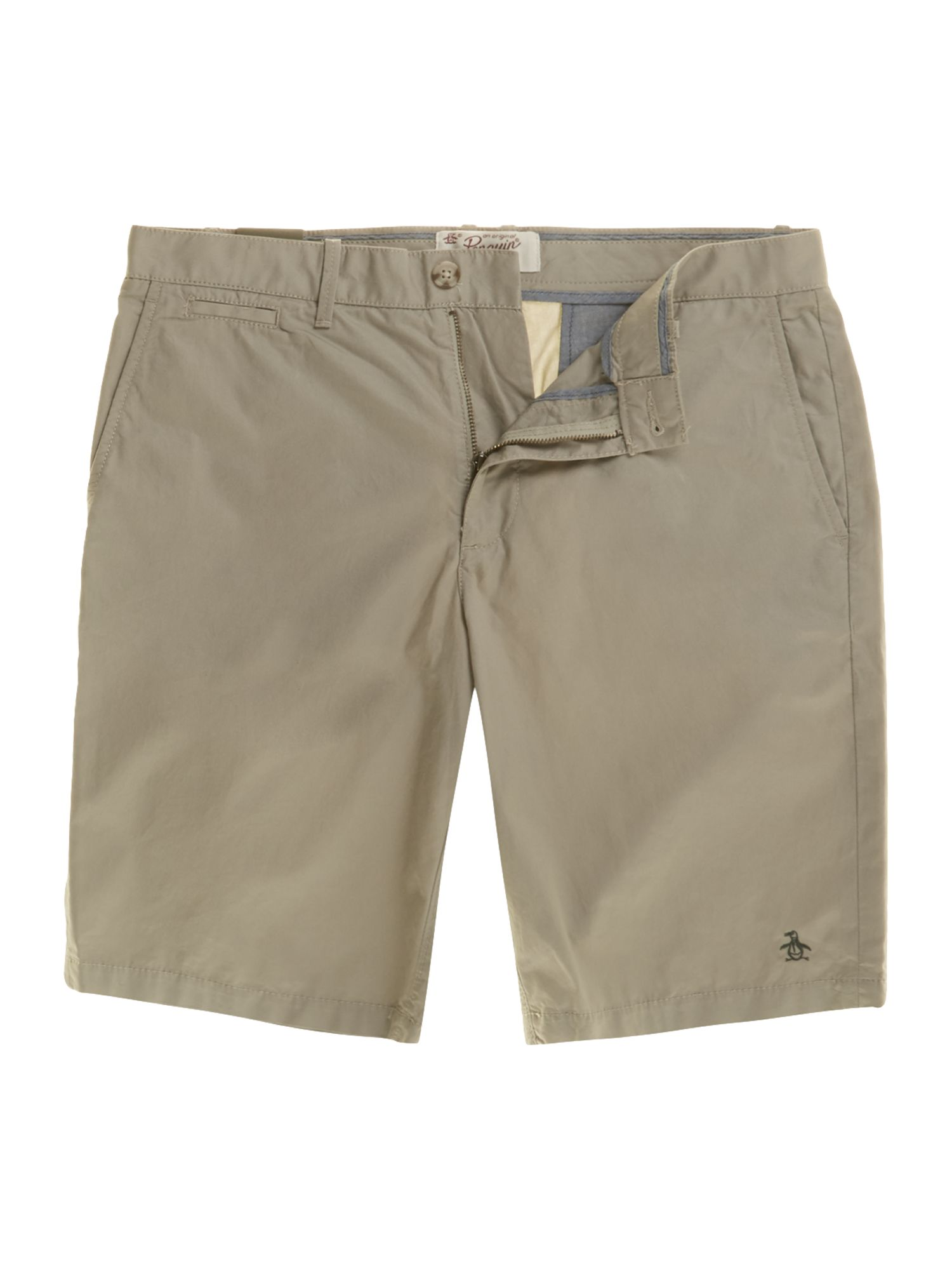 Regular fit chino shorts