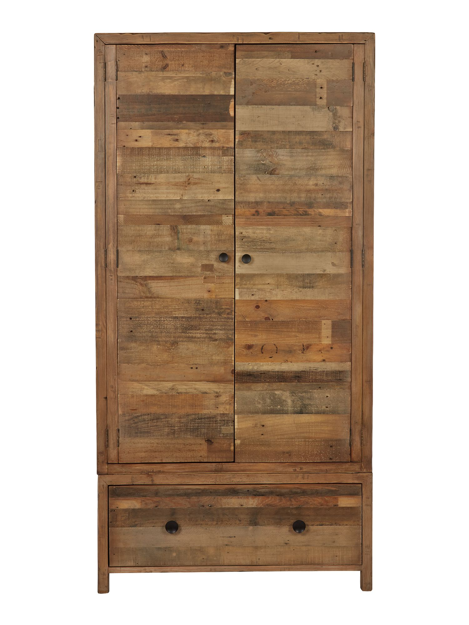 Kennedy double wardrobe with drawer