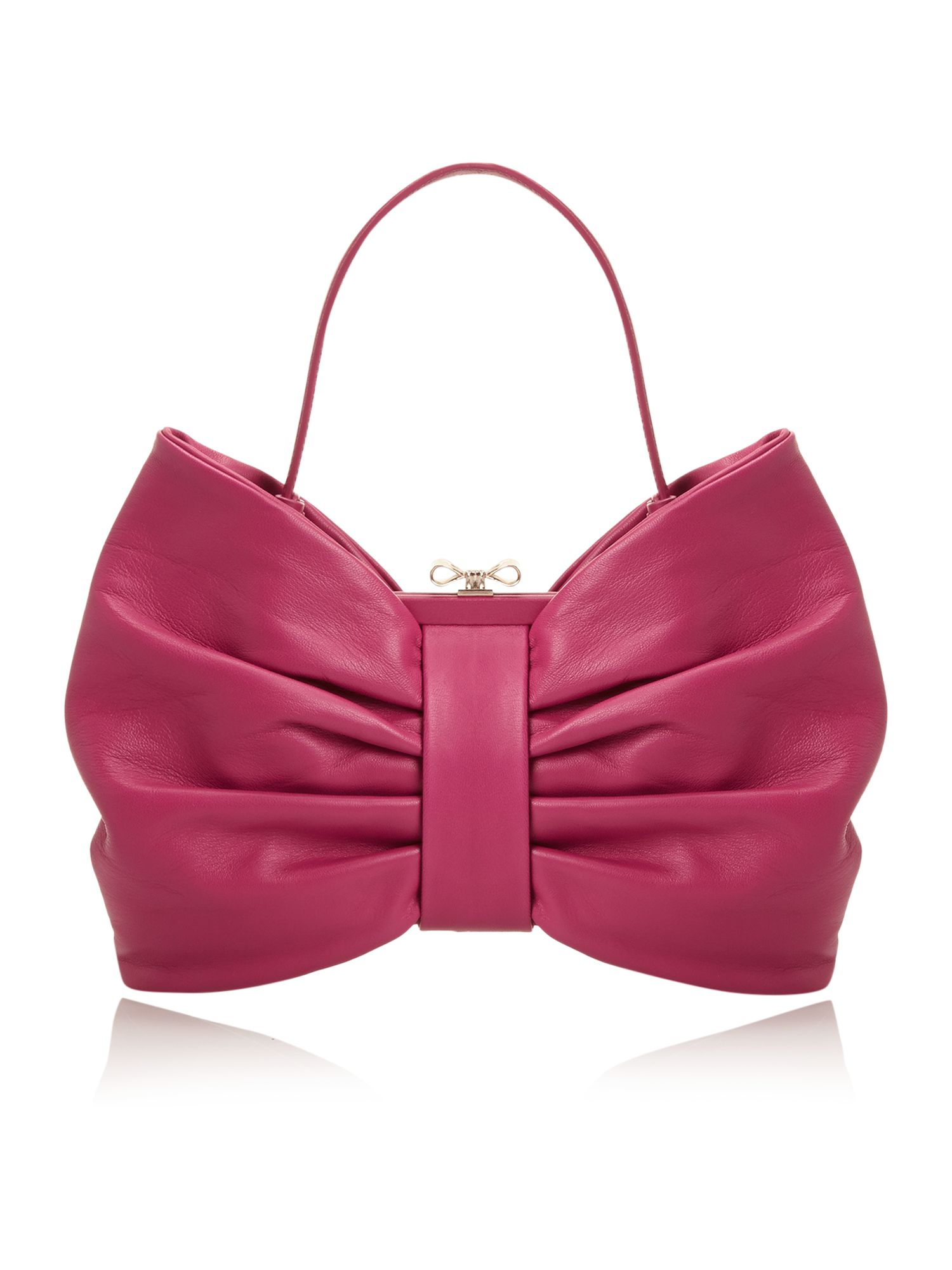 Block pink bow grab bag
