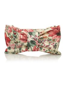 Floral multi coloured cross body bag