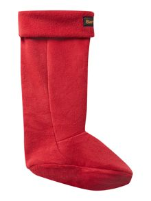 Fleece wellington logo sock