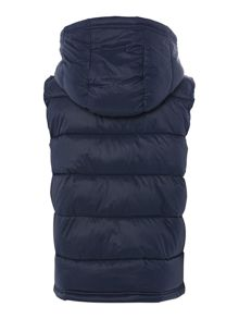 Boy`s quilted gilet