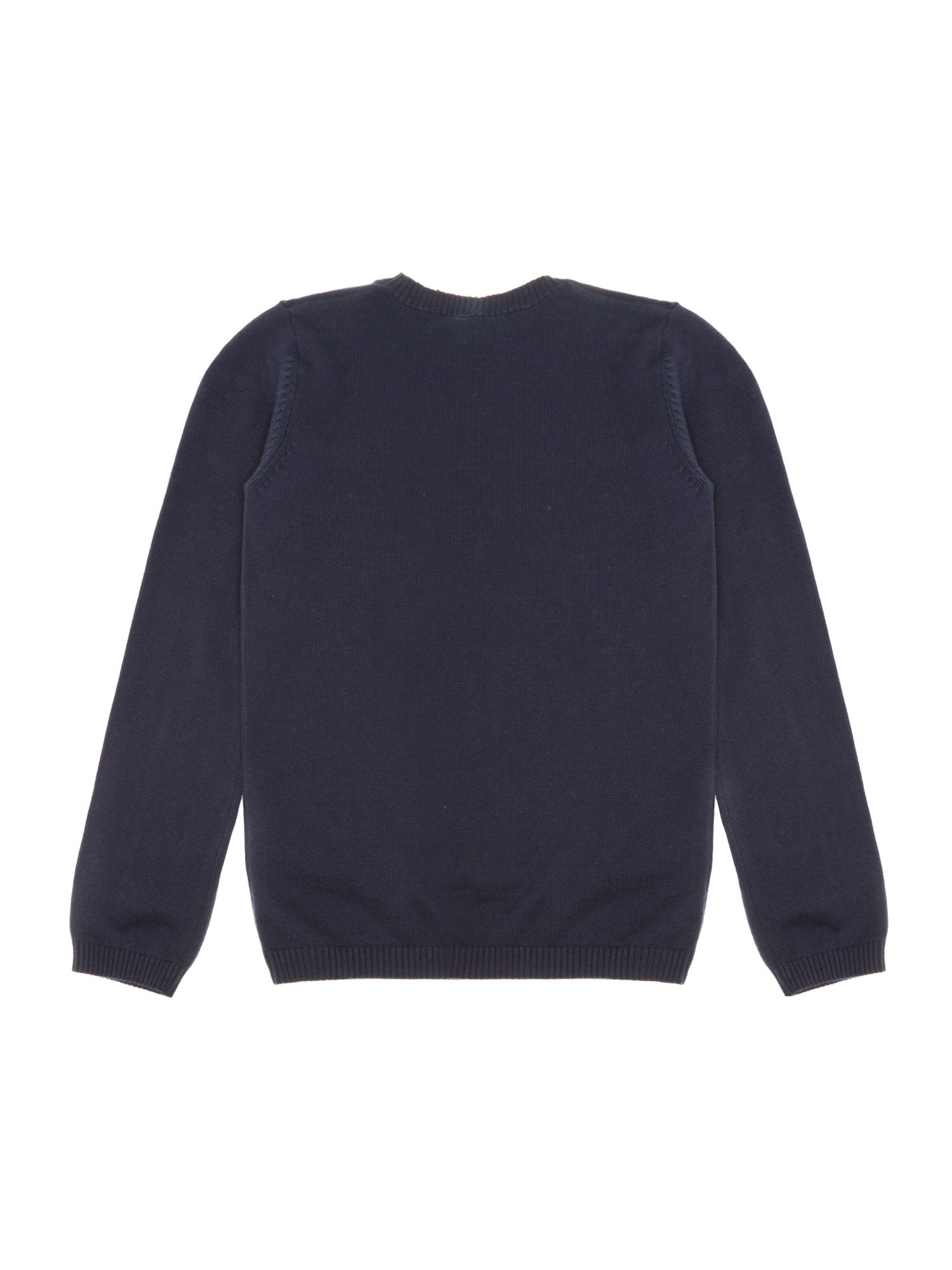 Boy`s crew neck jumper