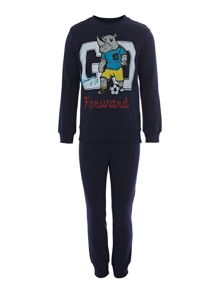 Boy`s rhino tracksuit set