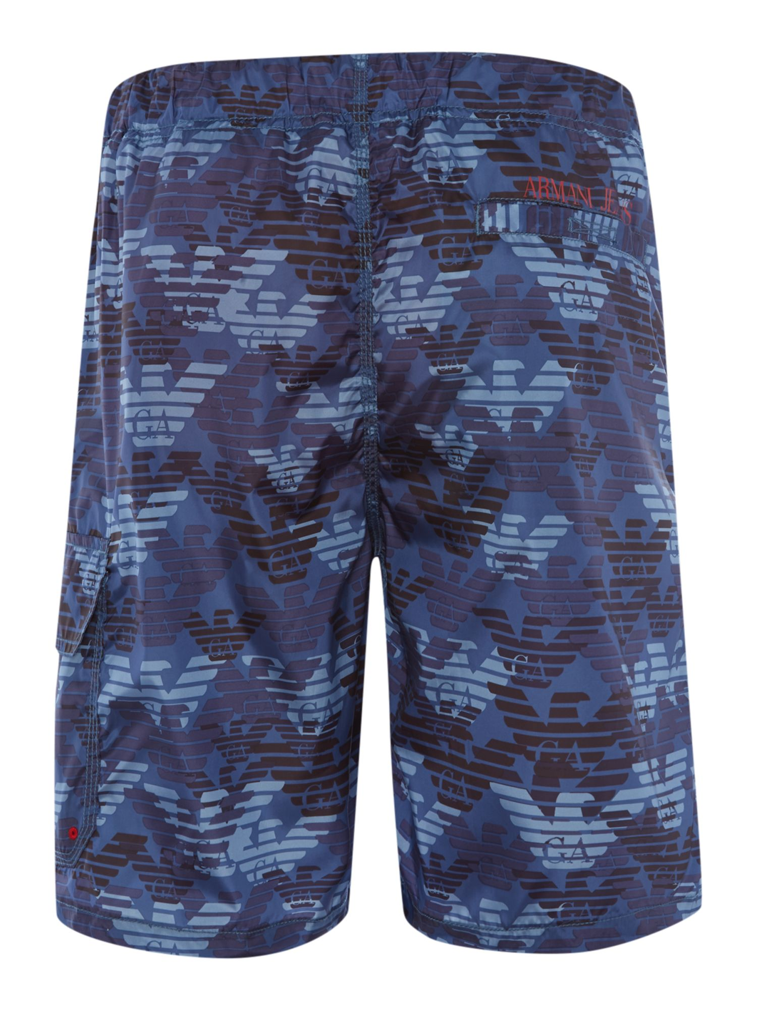 All over logo swim shorts