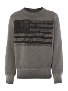 Boy`s american sweat top