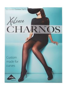 Charnos Xelence Plus Size 50 Denier Opaque Tights