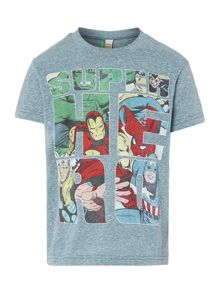 Boy`s superhero t-shirt