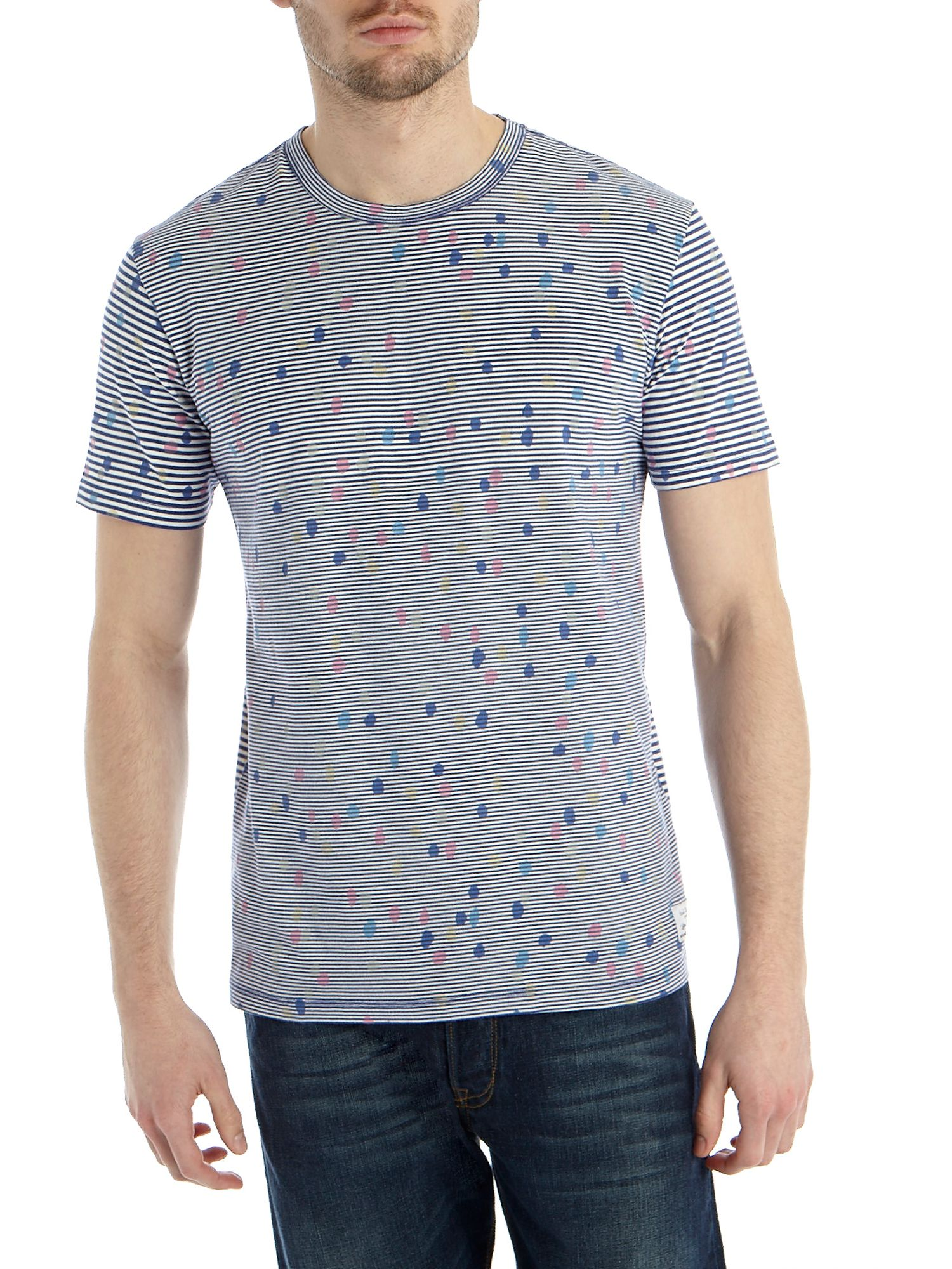 Spot stripe t-shirt