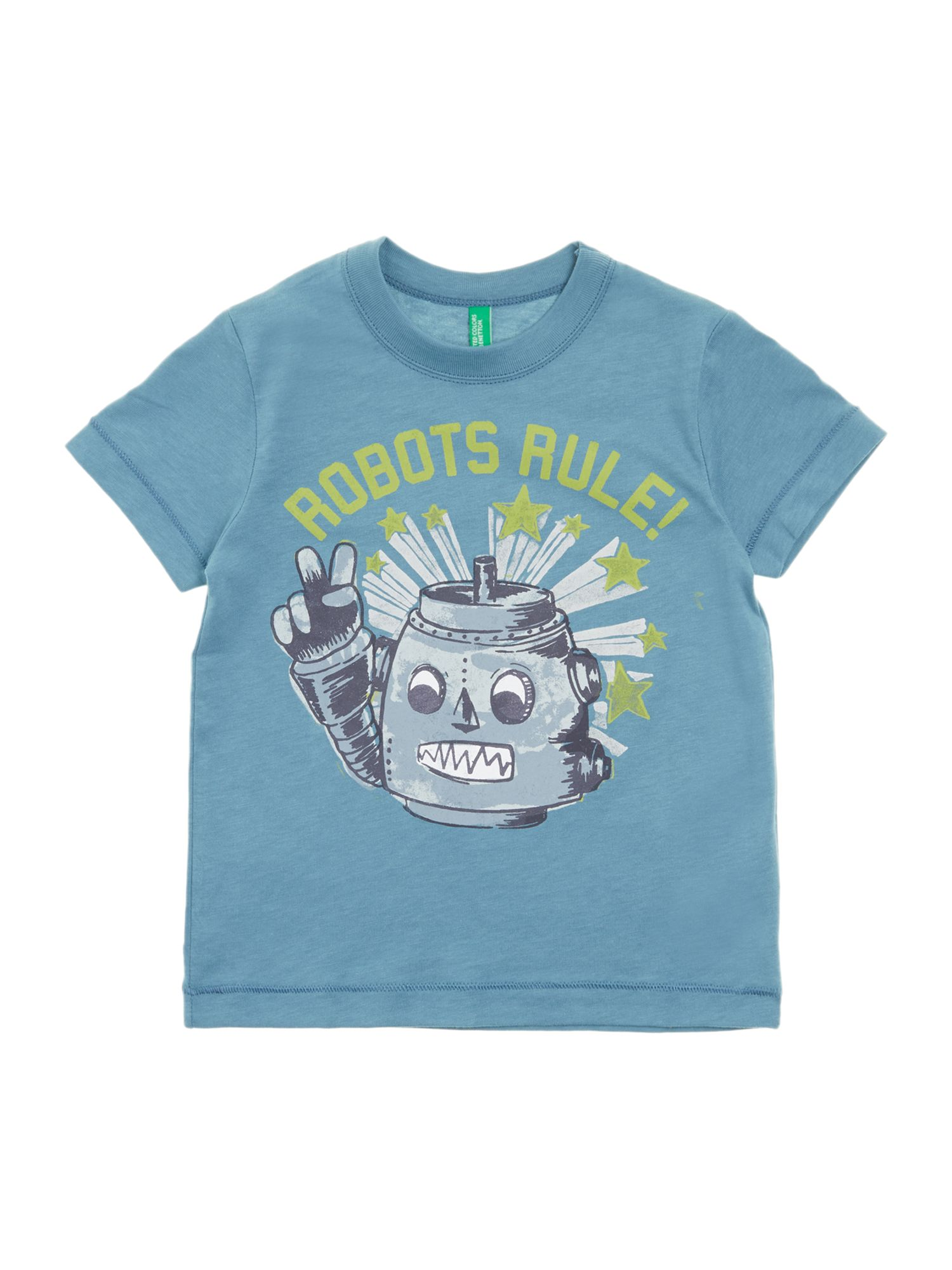 Boy`s robot t-shirt
