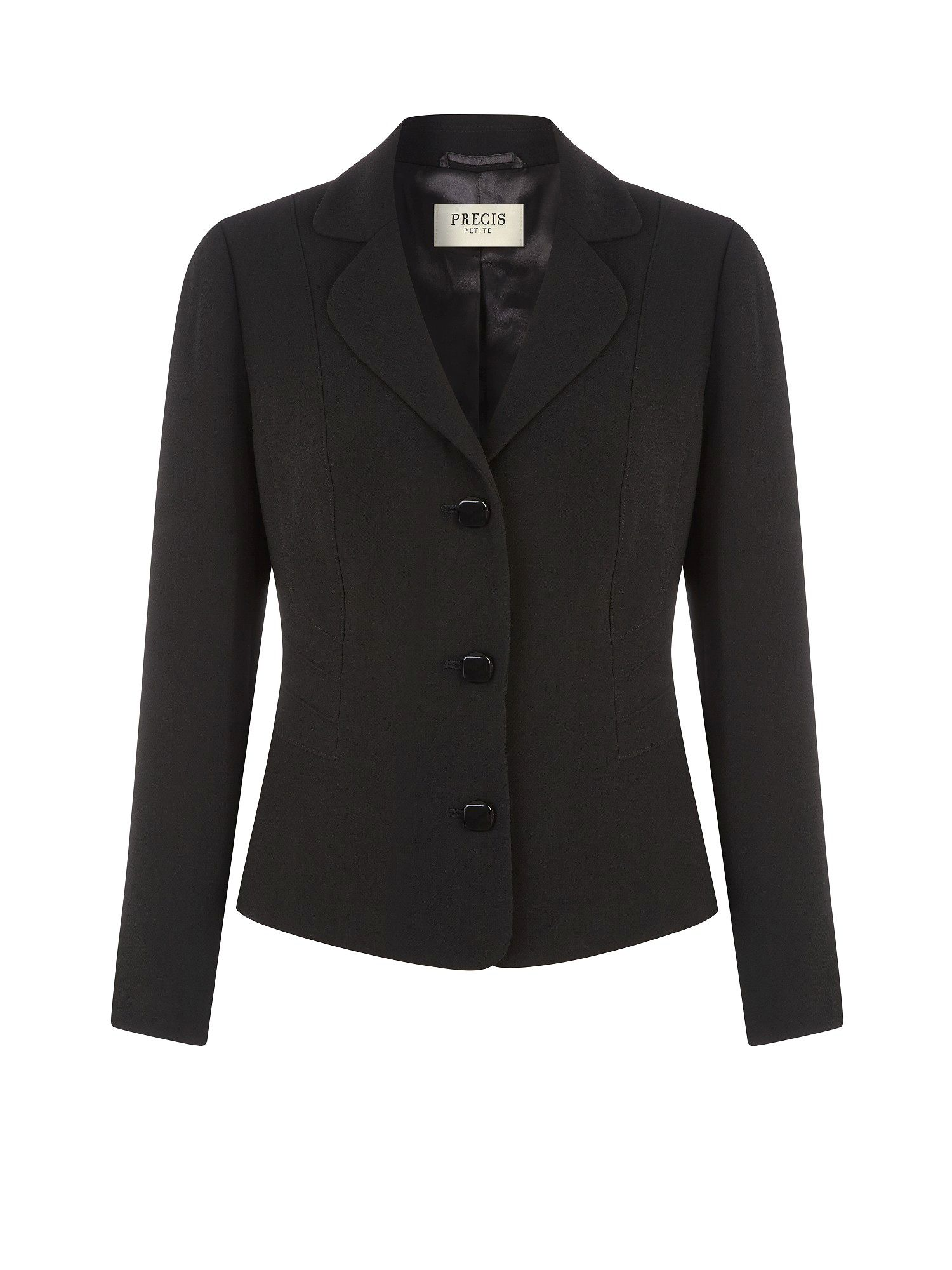 Black textured workwear jacket