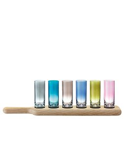 Paddle Vodka Set & Oak Paddle L40cm multi-colour