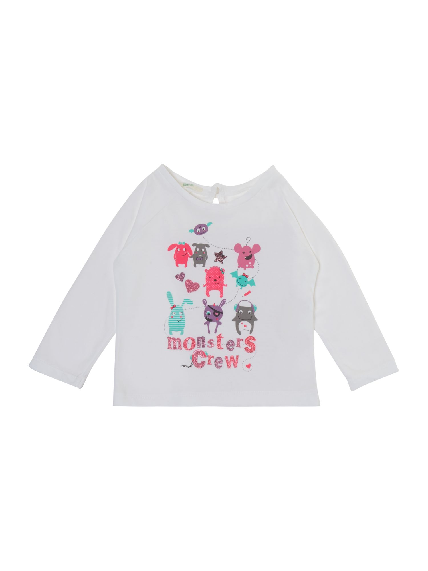 Girl`s monster tee