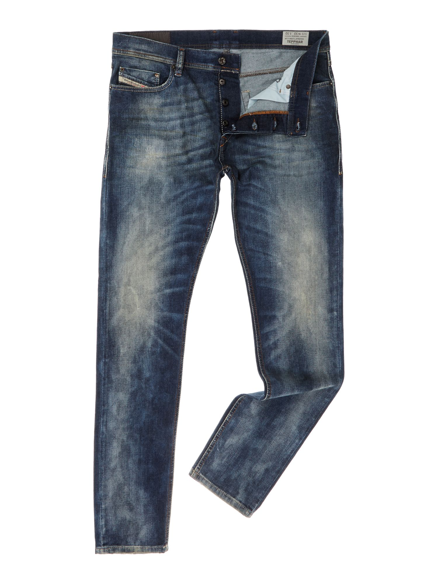 Tepphar 0827J slim fit jean