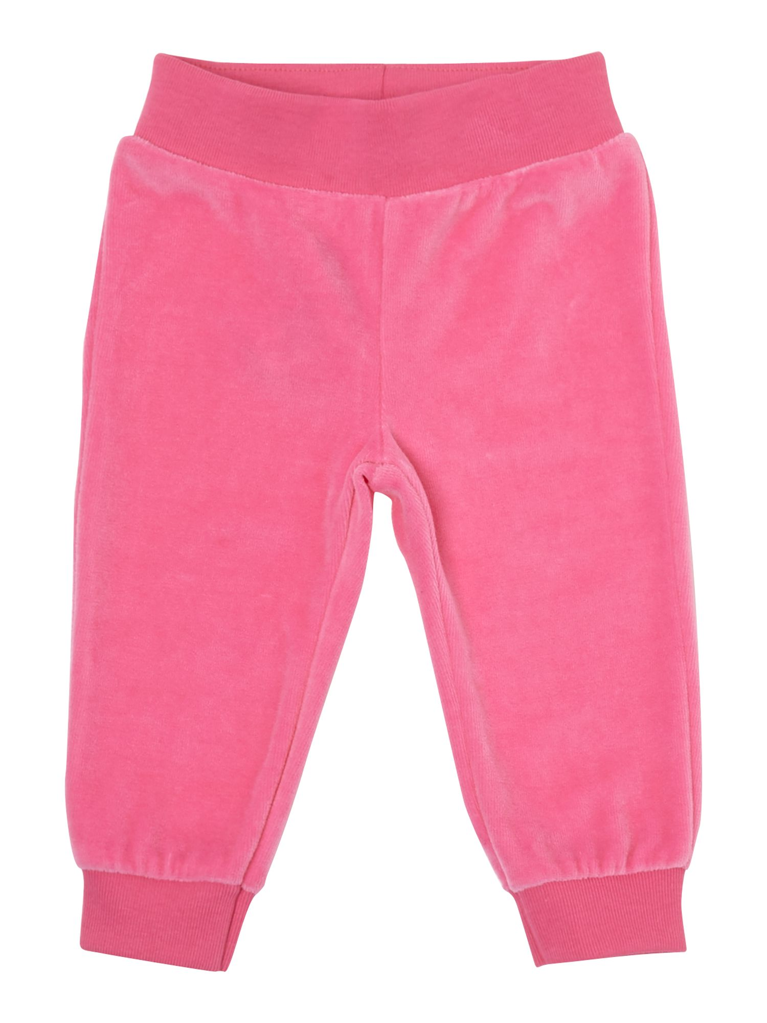 Girl`s velour trousers