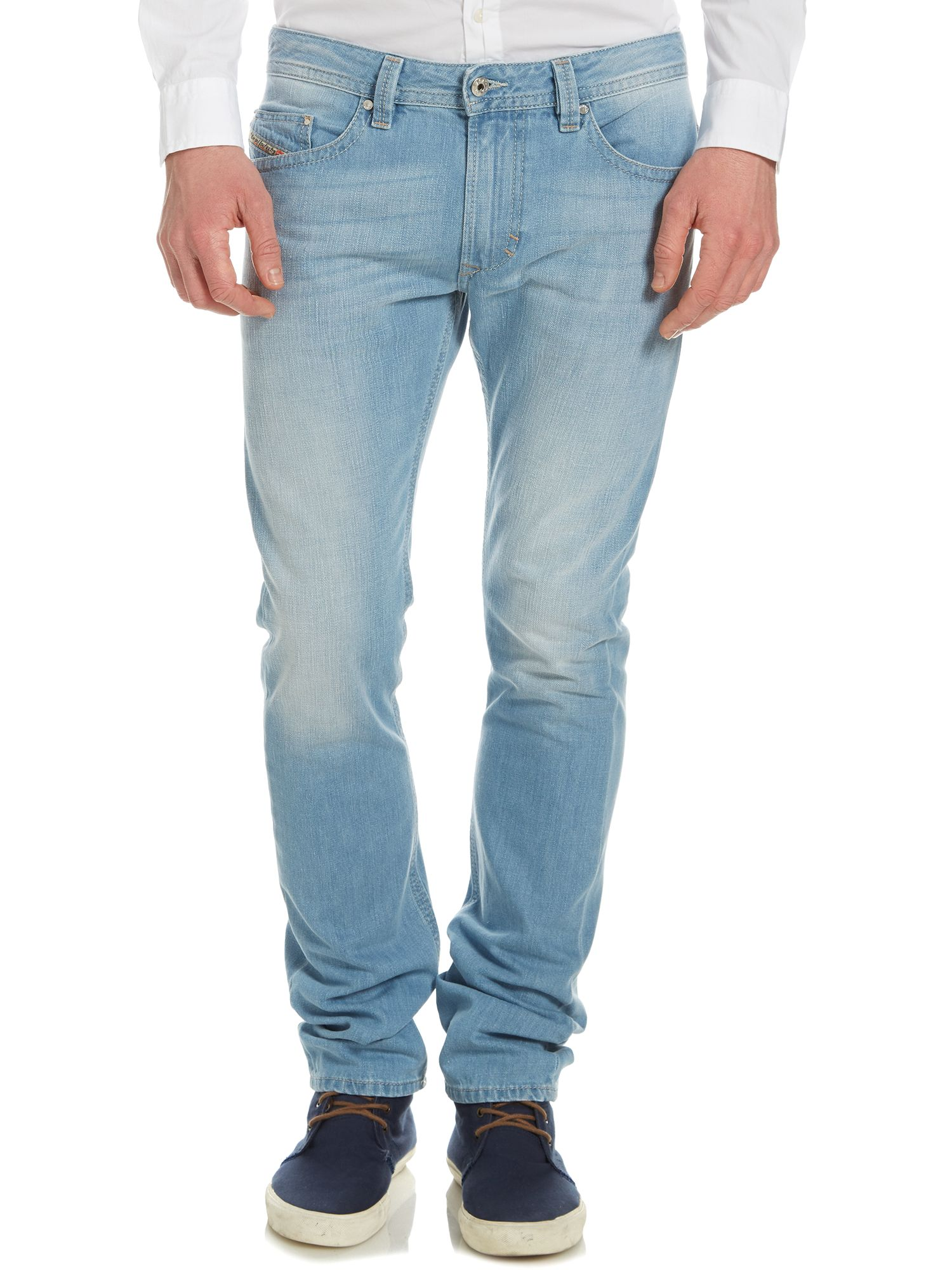 Thavar 0825Z light wash slim fit jean